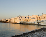A view of Naoussa, Paros
