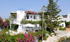 Rooms for rent at Pandora, Paros